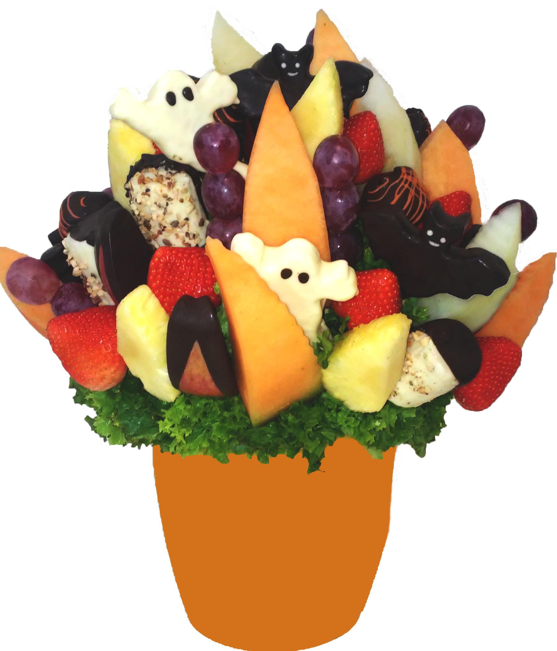 Ovocná kytice Halloween