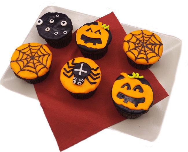 Originální halloweenské muffiny