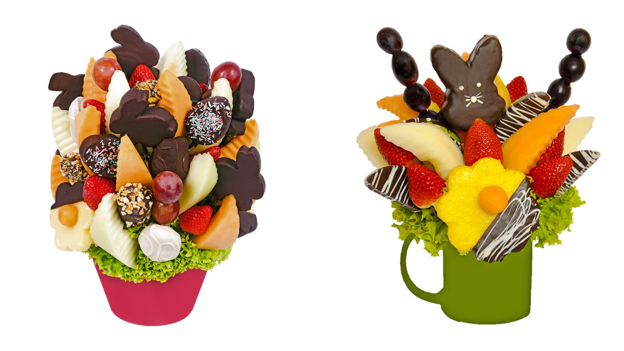 Velikonoční ovocné kytice