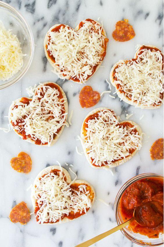 Tiy na jídlo pro zamilované