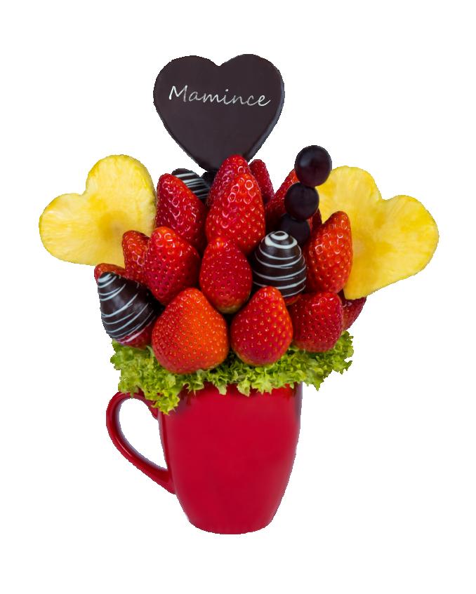 Ovocná kytice mamince