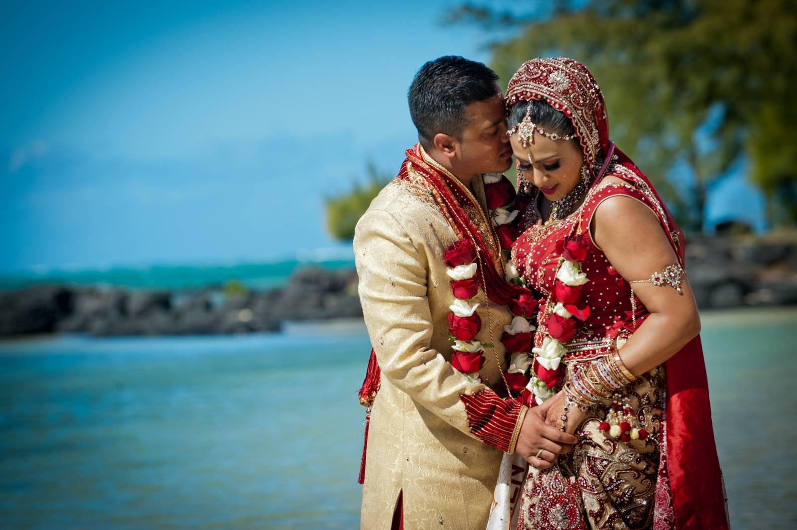 Svatba v Mauriciu