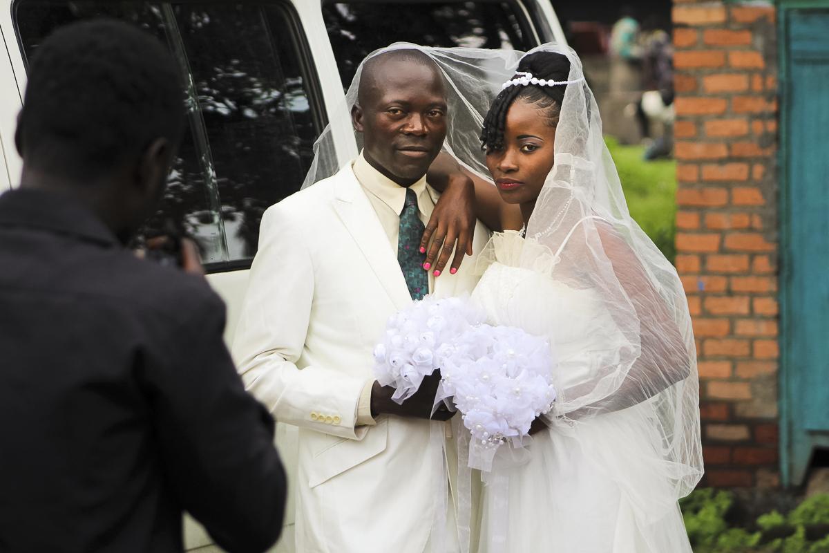 Svatba v kongu