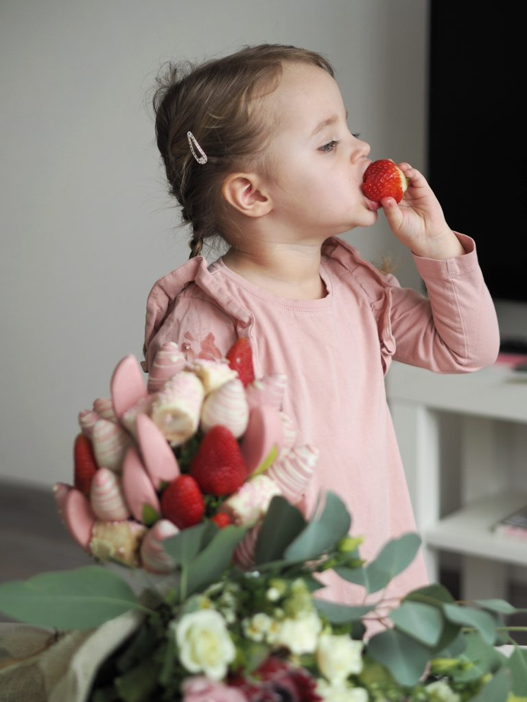 Frutiko- ovocné kytice i pro děti